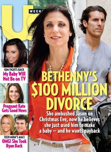 Bethenny is getting the D word and it's UGLY!